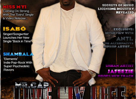 "Mr.CAP Set To Release New Single ""Live My Life"" And Takes The Cover Of Jamsphere Magazine"