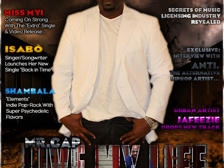 """Mr.CAP Set To Release New Single """"Live My Life"""" And Takes The Cover Of Jamsphere Magazine"""