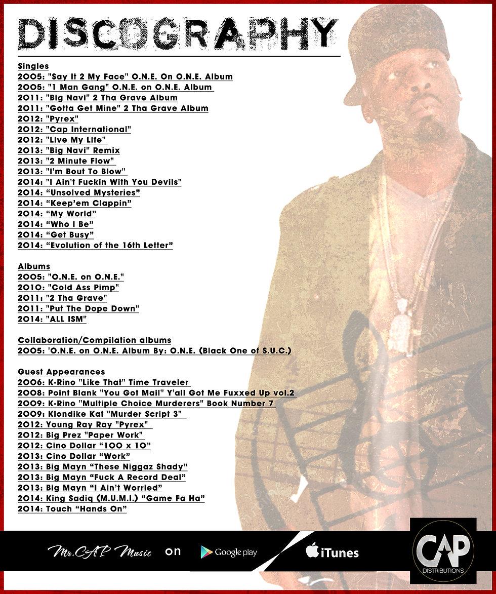 Mr. CAP Discography
