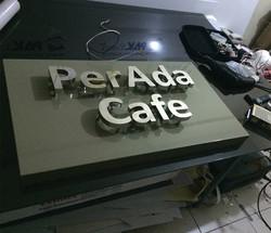 PerAda Cafe Krom Harf Ugyulama