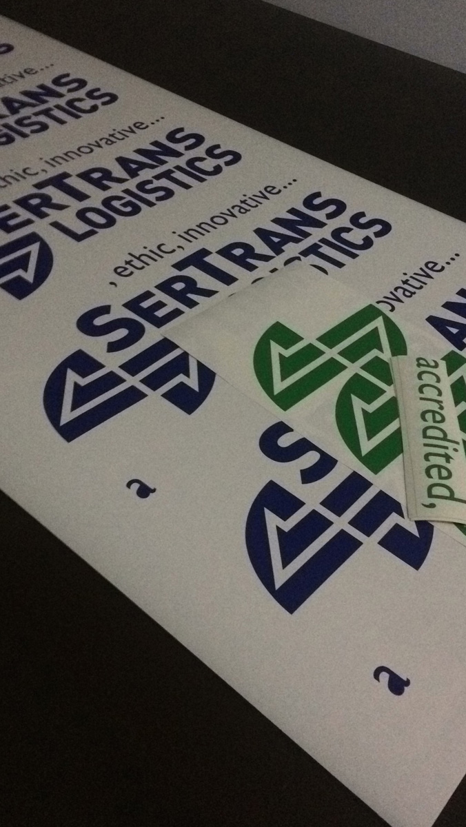 Sertrans Sticker