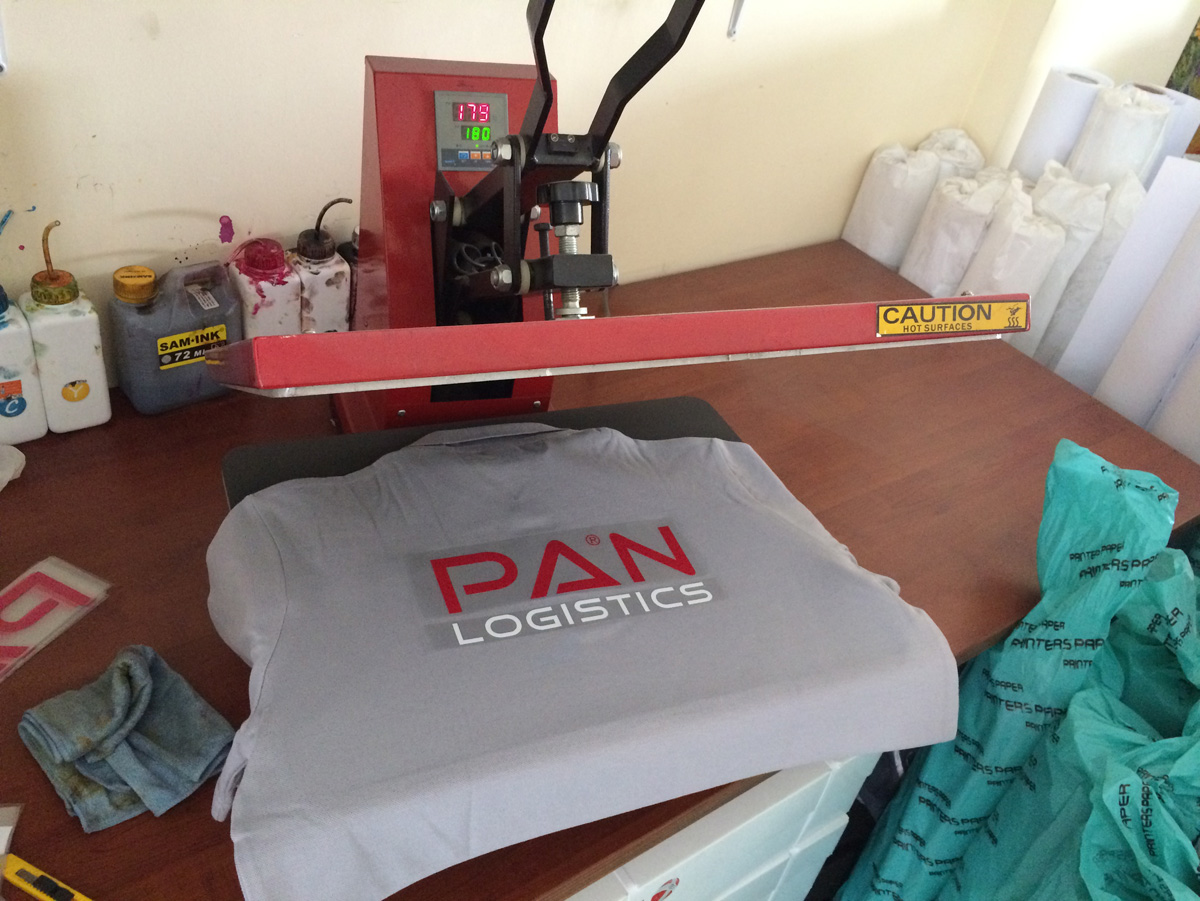 Pan Logistics Tshirt Baskı