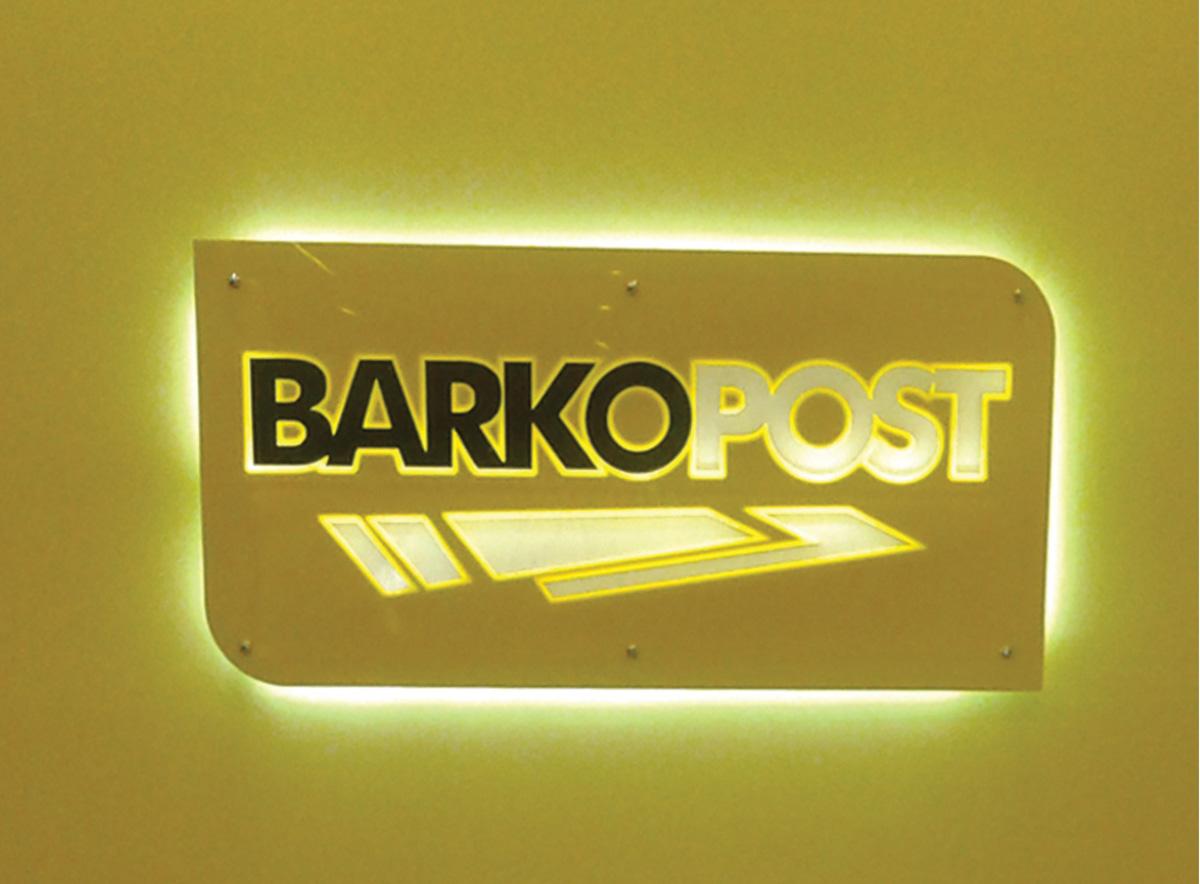 Barkopost Lazer Kesim Işıklı Tabela