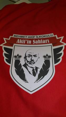 Akifin Şahları Tshirt Baskı