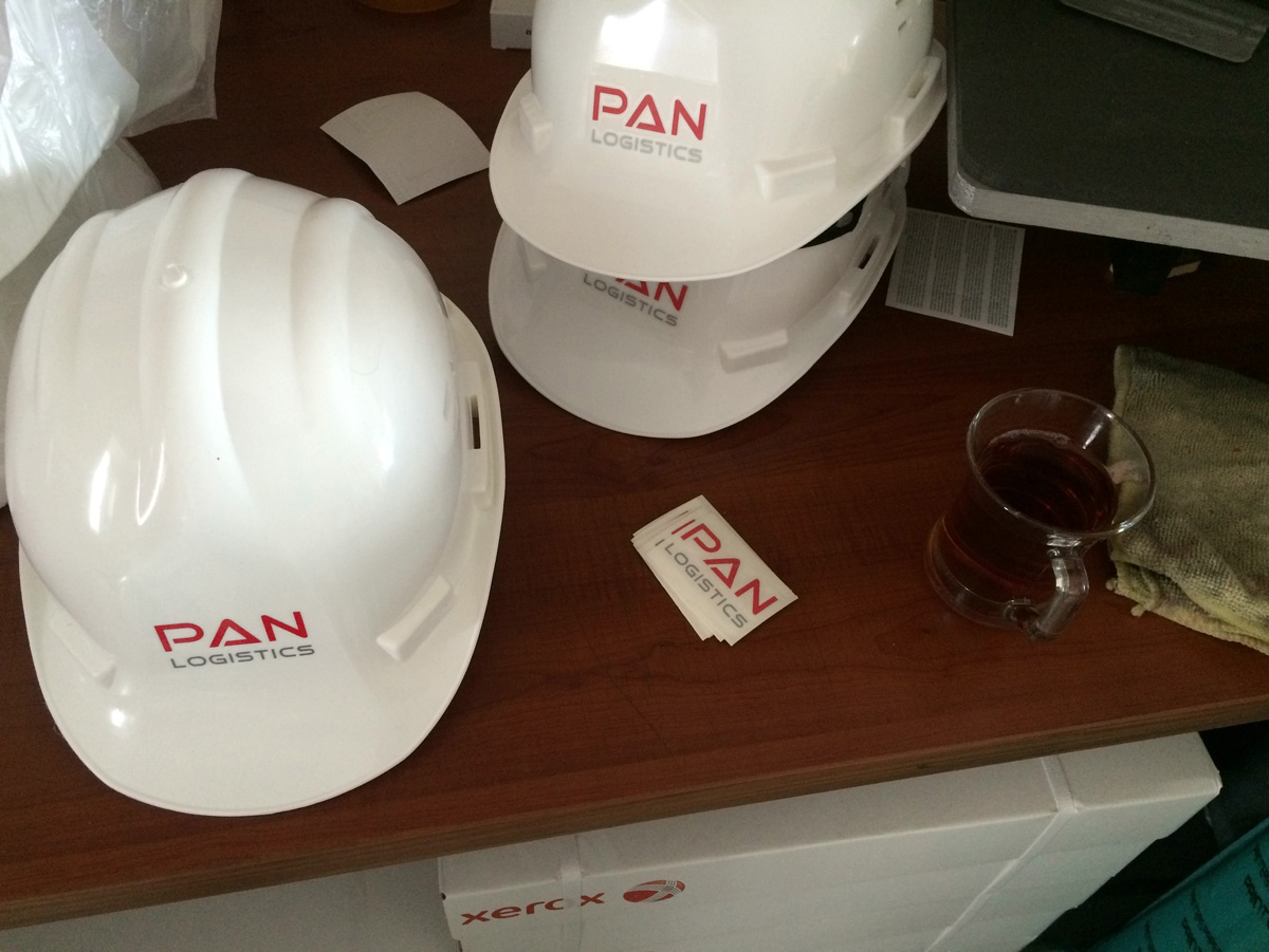 Pan Logistics Baret Baskı