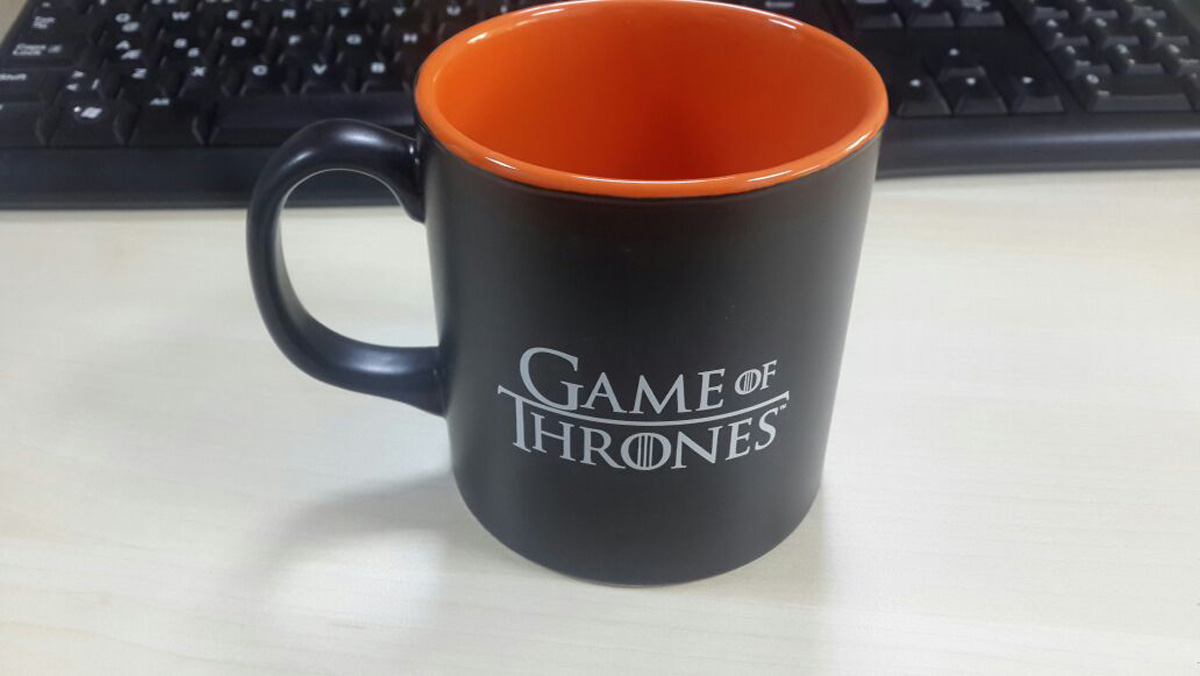 Game Of Thrones Kupa Baskı