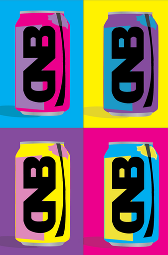 DNB Coke Can