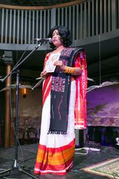 Poet Mou Modhubontee