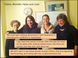 1. Elaine MIchelle, Haley and Leah