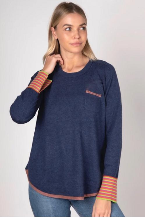 Zaket and Plover Pocket pullover