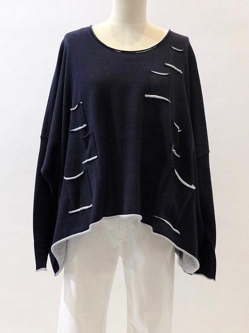 Rundholz Black oversized knit