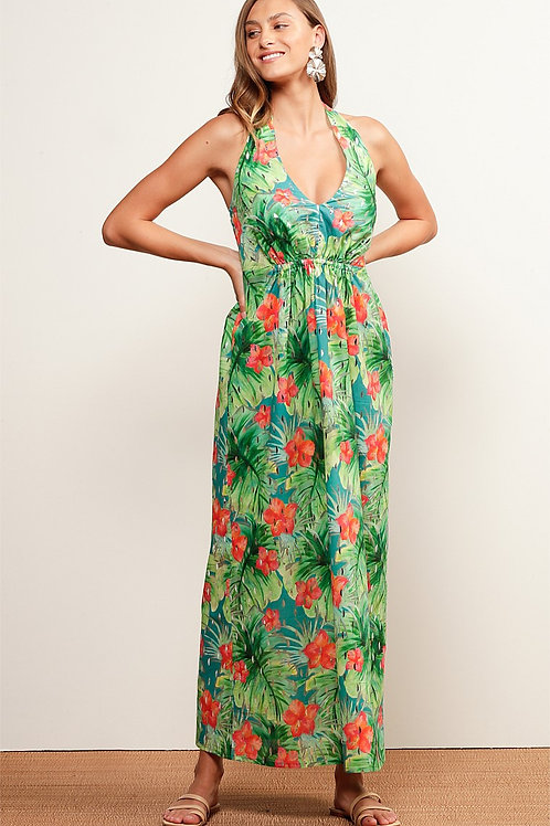 Sacha Drake Mermaid Beach halter neck dress