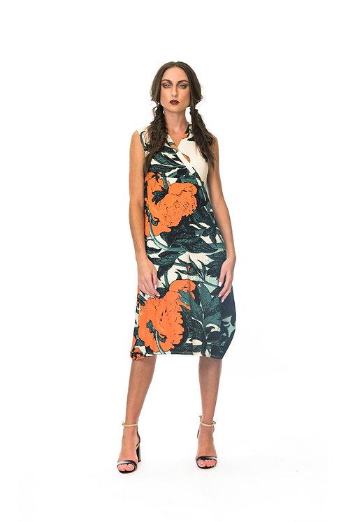 Megan Salmon Mandarin Korean dress