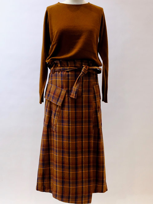 Pol wrap skirt