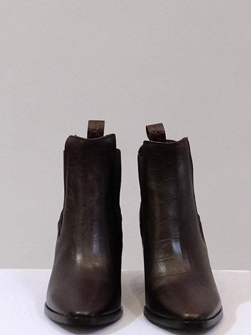 Sempre Di mock croc ankle boot