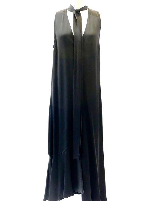 Twinset long black dress