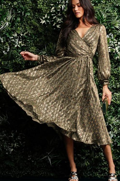 Sacha Drake Melanie wrap dress