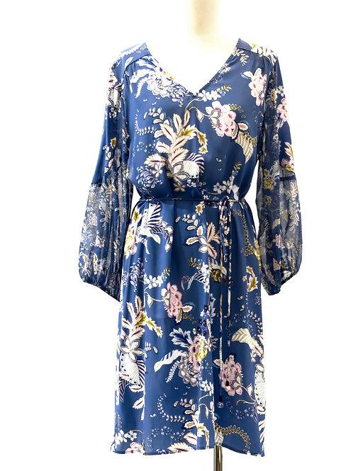 Loobie Story printed silk dress