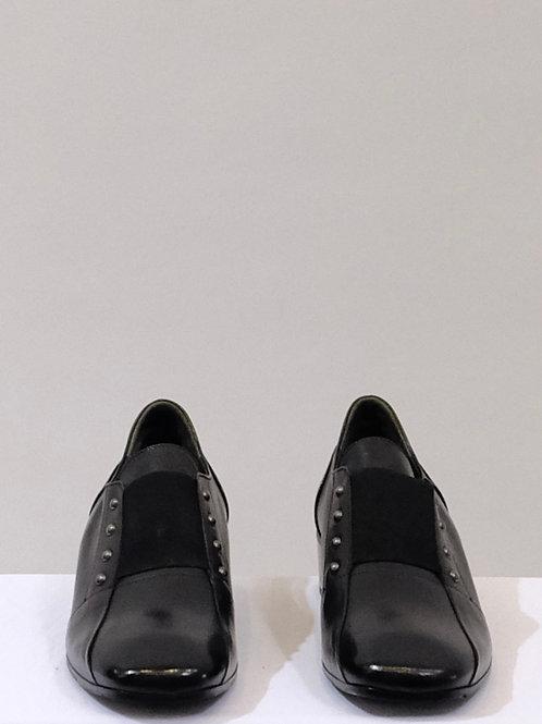 Laura Belariva black leather shoes