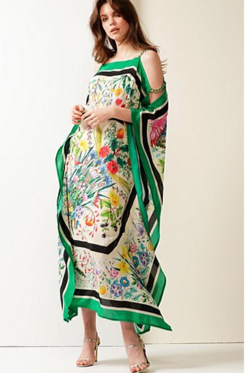 Sacha Drake Love Among Theives kaftan dress