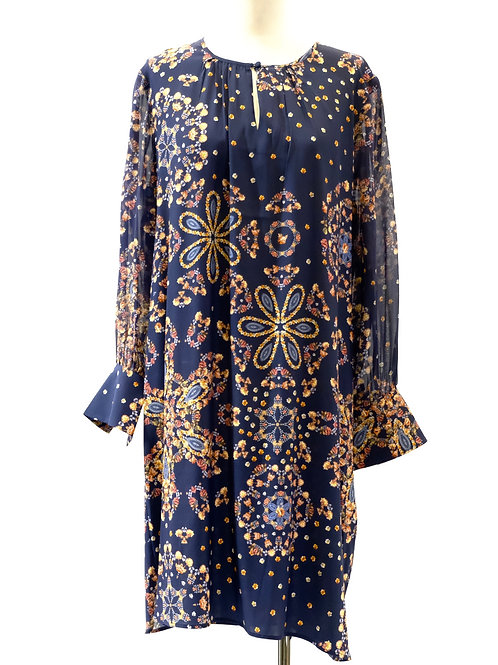 Loobie Story printed silk dress