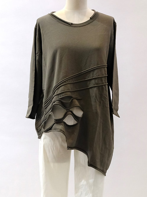 Crea knit tunic top