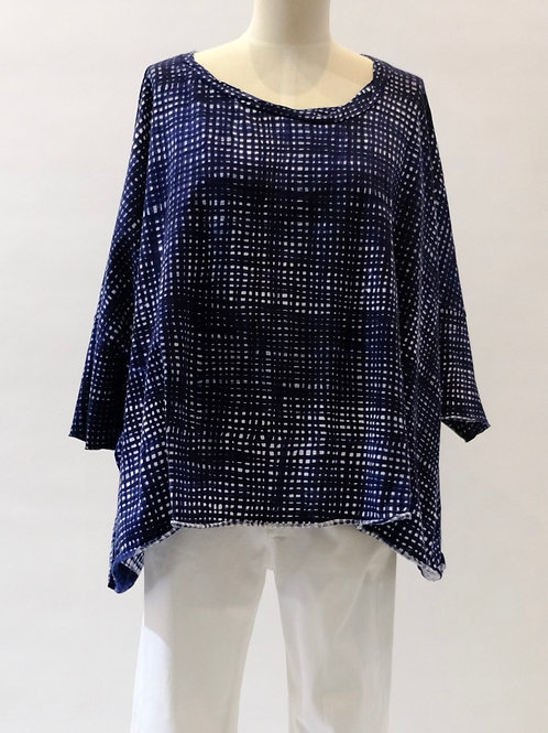 Rundholz Black checked top