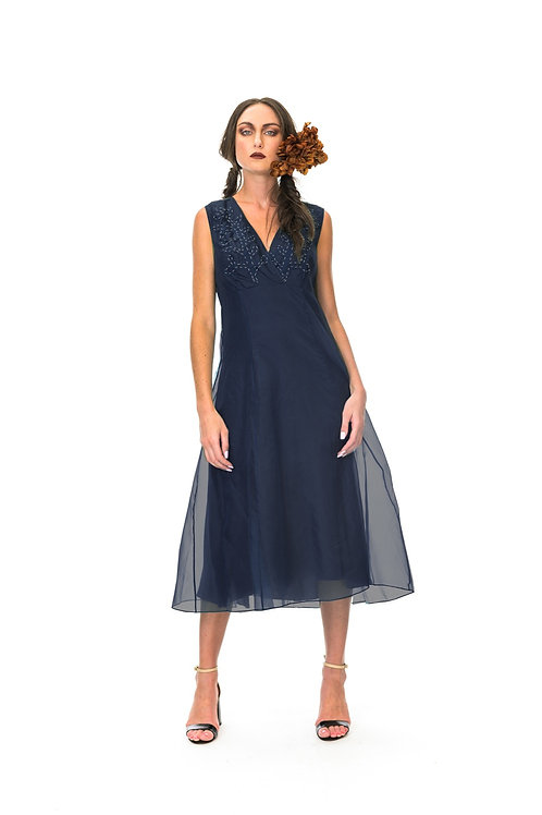 Megan Salmon organza Addison dress