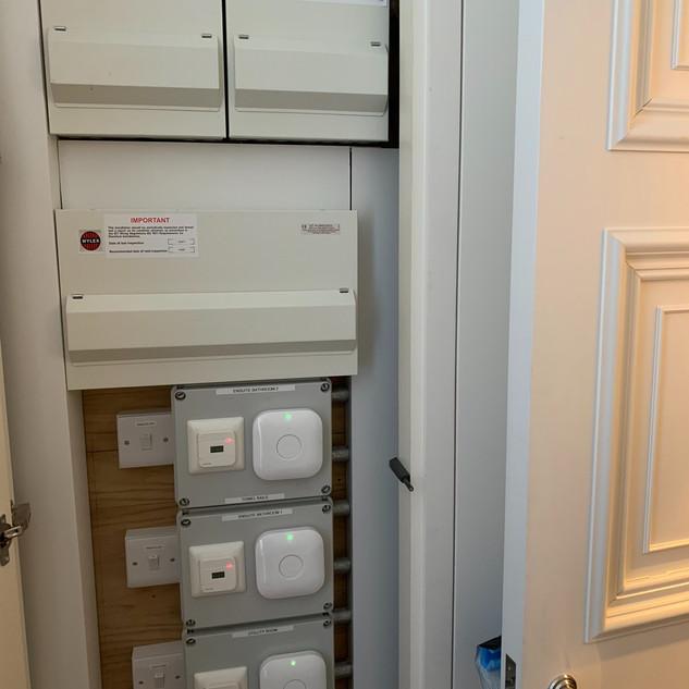 Electrical cupboard