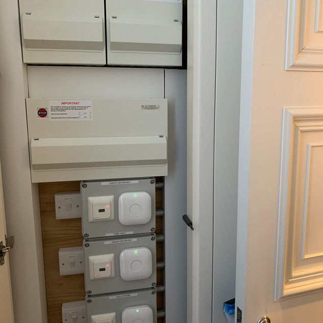 Electrical cupboard
