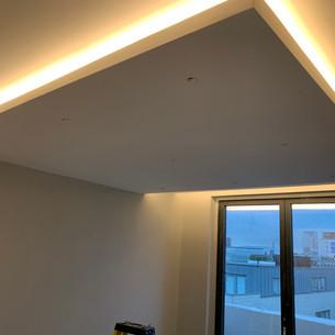 Bdroom ceiling detail