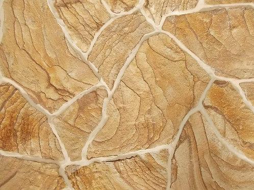 Песчаник светло-желтый с узором