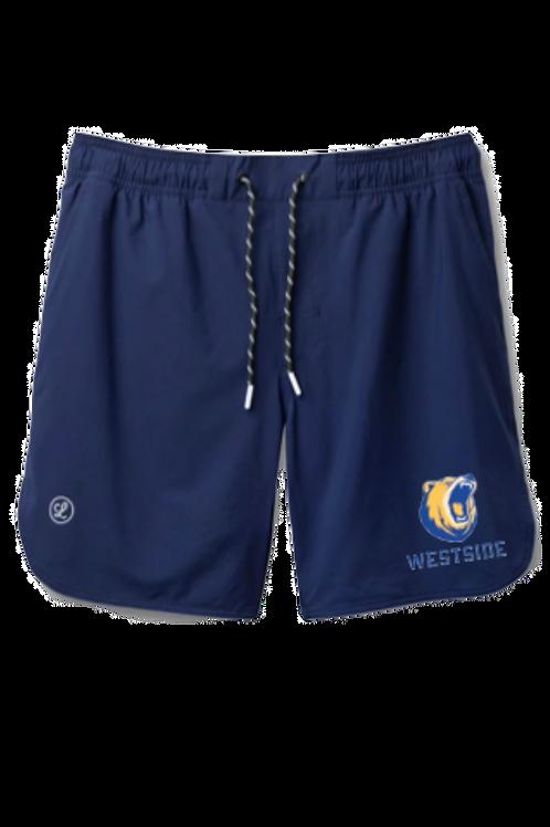 WSBLC Blue Luka shorts