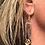 Thumbnail: Bar, Star and Citrine Earrings