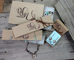 Rehn Design Packaging for hand-crafted Artisan, Bohemian and American Indian silver and turquoise jewelry.