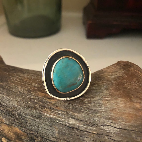 Turquoise Shadow Ring