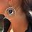 Thumbnail: Whimsical Onyx Heart Flower Hoops