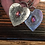 Thumbnail: Pink Tourmaline and Sterling Silver Heart Earrings