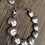 Sterling Silver Disc Bead Bracelet With Charm Alternate View