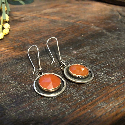 Carnelian Fall Earrings