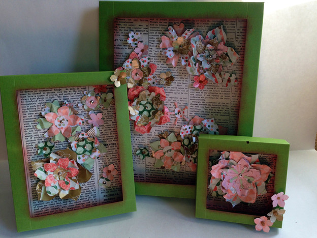 Fun Friday: Small, Medium & Large Shadow Boxes