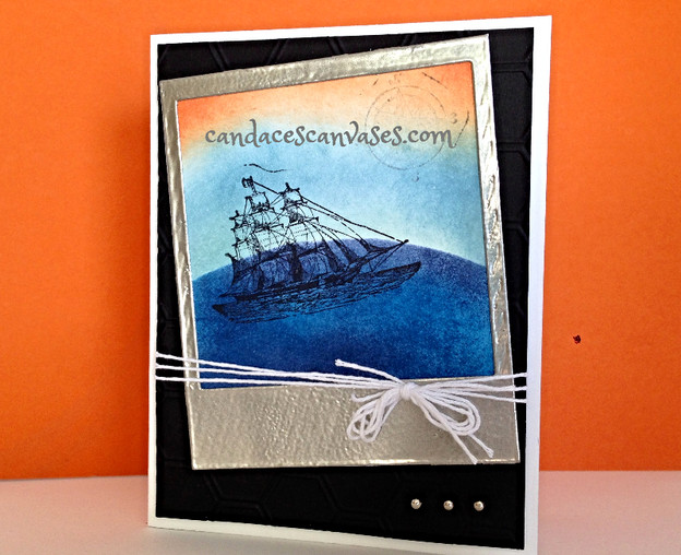 Cards! Cards! Monday:  Masculine The Open Sea Card