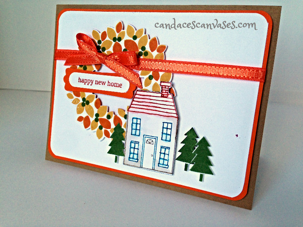 Cards! Cards! Monday: Holiday Home Meets Wonderous Wreath