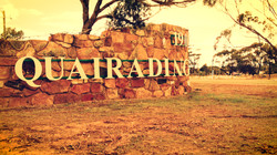 Quairading Welcome sign