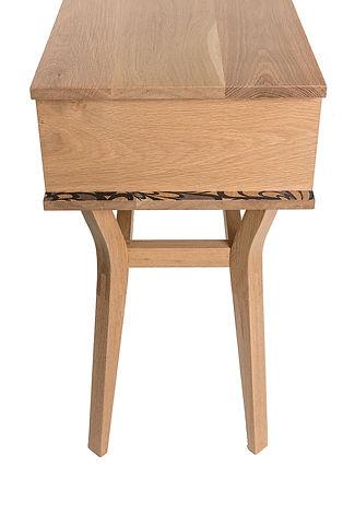 Custom Modern Furniture | Annapolis Maryland | 1429 Mfg | Elsa Console Table