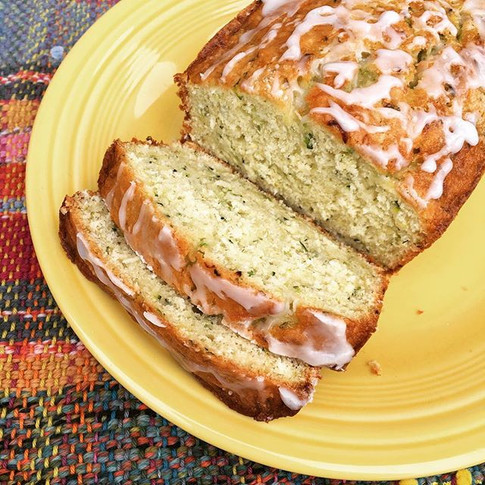 Zuchini Coconut Lime Bread