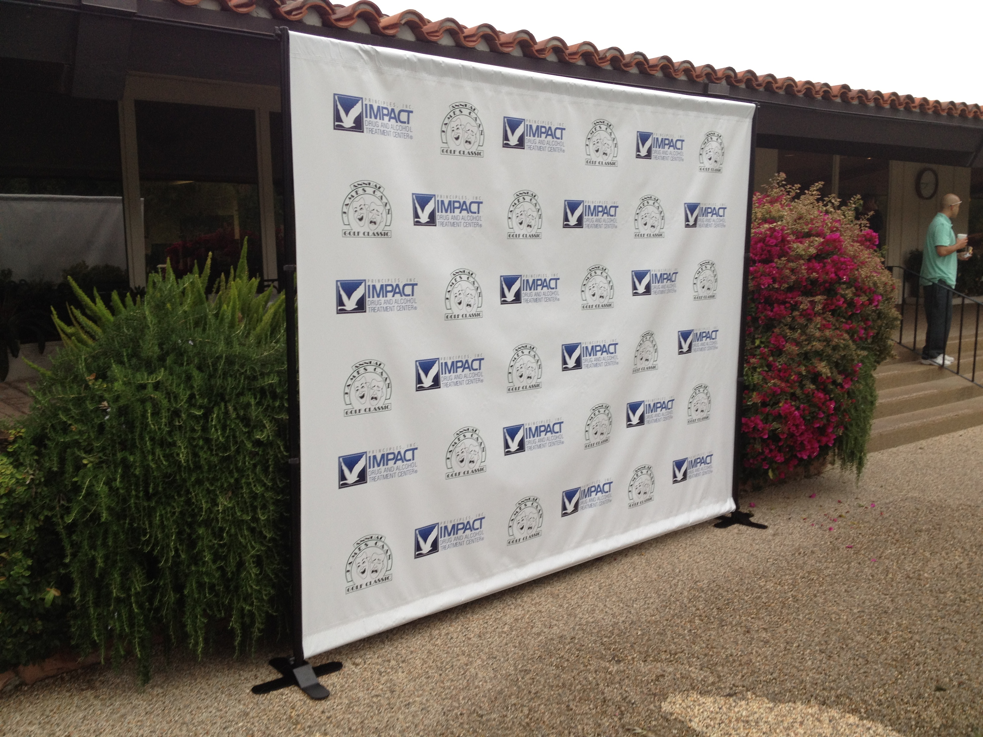 Step & Repeat Banner