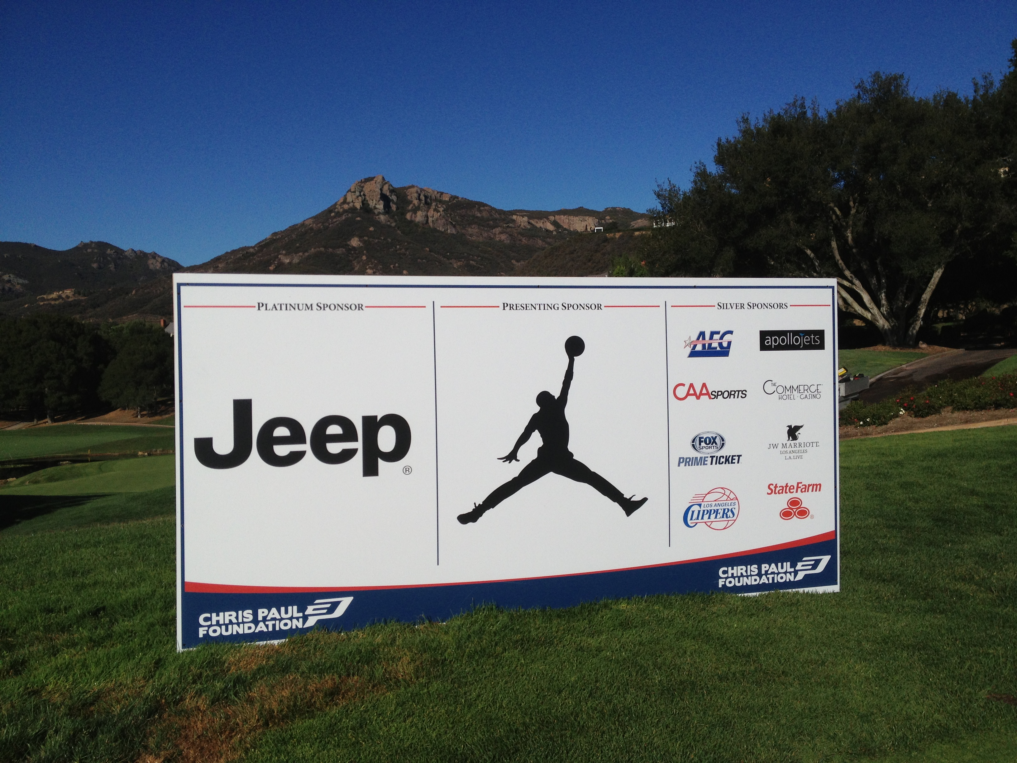 Tee Back Sign