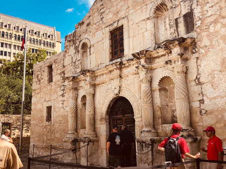 A trip to the Alamo brings introspection and a bit of sweat...