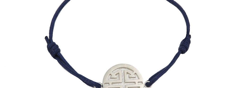 Bracelet Chine, Les 3 étoiles du bonheur - LU (prospérité)